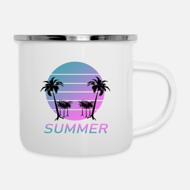 Feeling Feel the Summer - Feel the summer - Enamel Mug