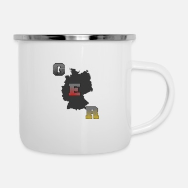 Germany Germany - Germany - Enamel Mug