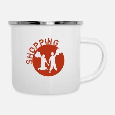Shopping Shopping - shopping - Tazza smaltata