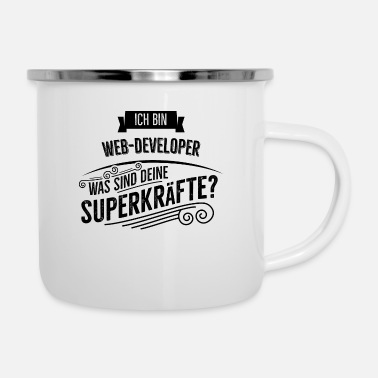 Web Web Developer - Emaille-Tasse