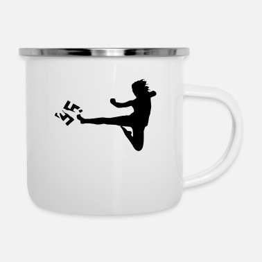 Against against Nazis - Enamel Mug