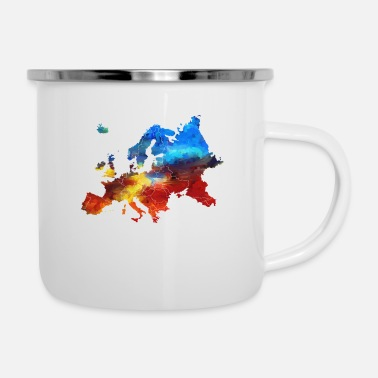 Europa Europa - Emaille-Tasse