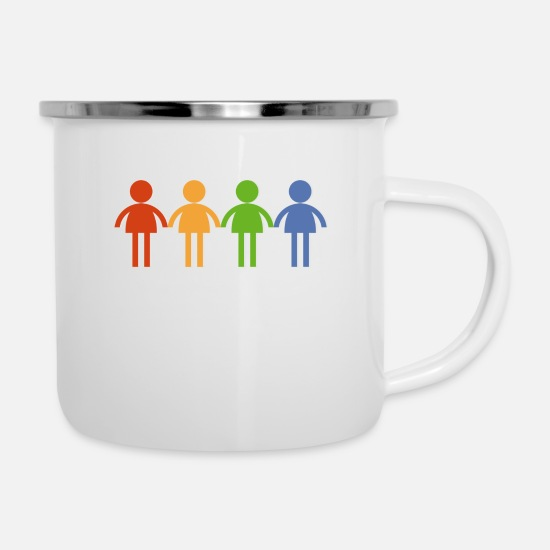 Love Mugs & Drinkware - community - Enamel Mug white