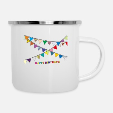 Birthday Party birthday party - Enamel Mug