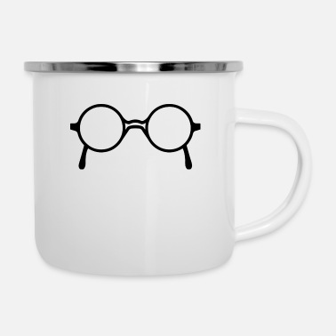 Glass glasses - Enamel Mug