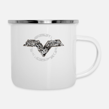 Vector Vector illustration - Enamel Mug