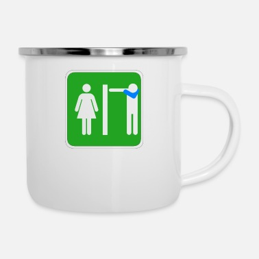 Bathroom DAB FOREVER toilet / bathroom Dabbare - Enamel Mug