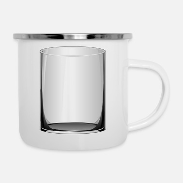 Glass. gift idea - Enamel Mug