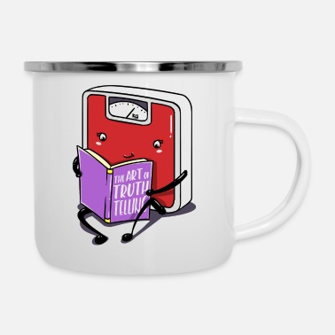 Overweight Libra Funny Truth Gift Diet - Enamel Mug