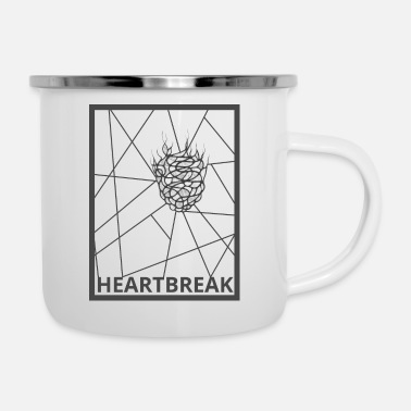 Heartbreaker Heartbreak - Emaille-Tasse