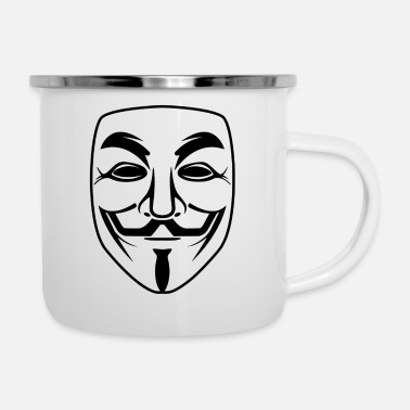 Anonymous anonymous - Emaille-Tasse
