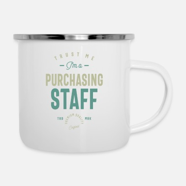 Purchase Purchasing Staff - Enamel Mug