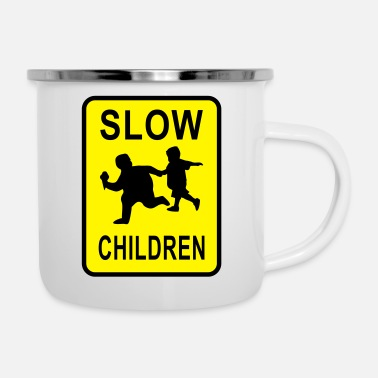 Slow Slow Children - Enamel Mug