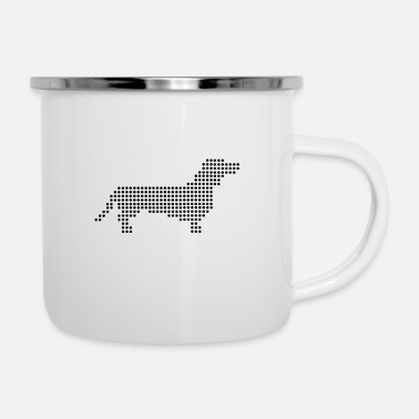 Renner Dog points - Enamel Mug