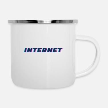Internet - Tazza smaltata