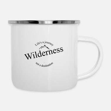 Wilderness Wilderness - Enamel Mug