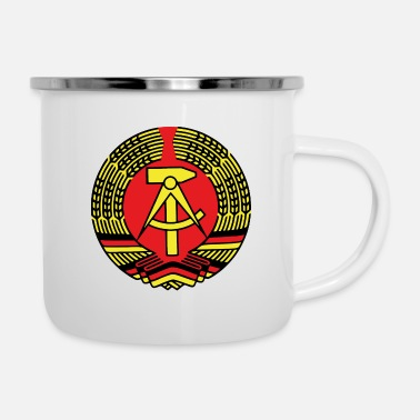 New German States GDR - Enamel Mug