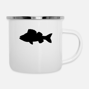 Pikeperch fish - Enamel Mug