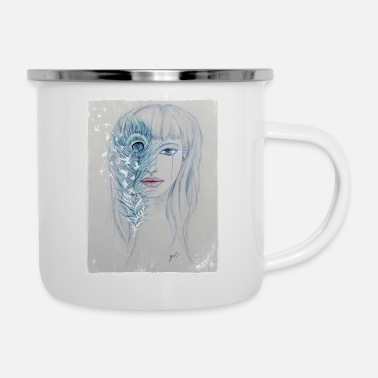 Winter Tears - Emaille-Tasse