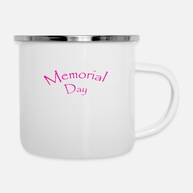 Day Memorial Day - Mug émaillé