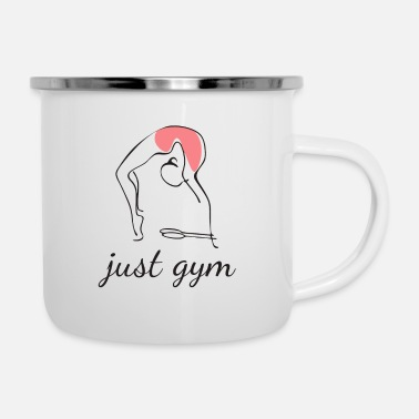 Just Just gym - Tazza smaltata