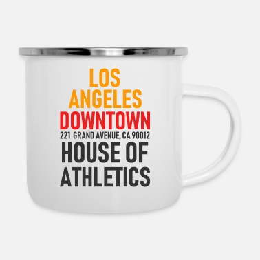 Hollywood Los Angeles - Centre-ville - Maison de l'athlétisme - Cal. - Tasse émaillée
