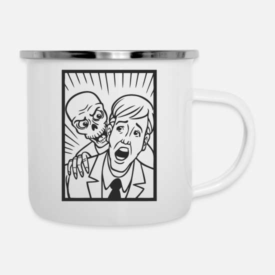 Comics Mugs & Drinkware - comic - Enamel Mug white