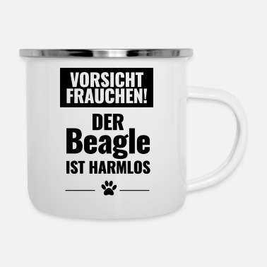 Care be careful - Enamel Mug