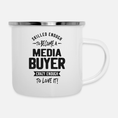 Media Media Buyer - Enamel Mug