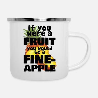 Fine Fine Apple - Enamel Mug