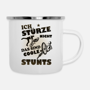 Stunt Coole Stunts - Emaille-Tasse
