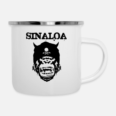 Party Sinaloa Mexico - Emaille-Tasse