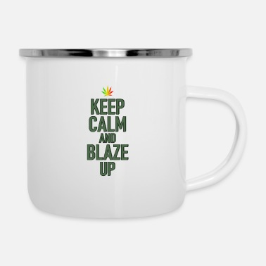 Blaze Blaze up - Enamel Mug