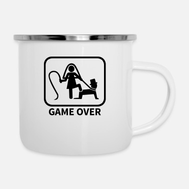 Marriage Game Over - Enamel Mug