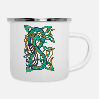 Celtic Celtic Dragon - Emaille-Tasse