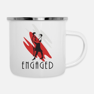 Engagement Engaged - Enamel Mug