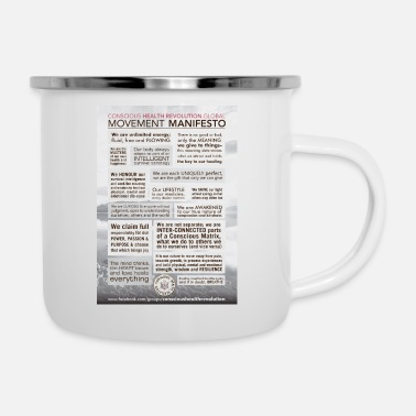 Movement Movement Manifesto - Enamel Mug