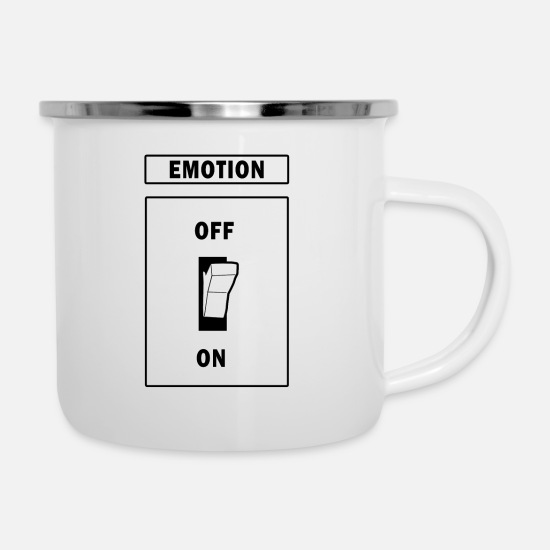 Love Mugs & Drinkware - Emotion 1 - Enamel Mug white