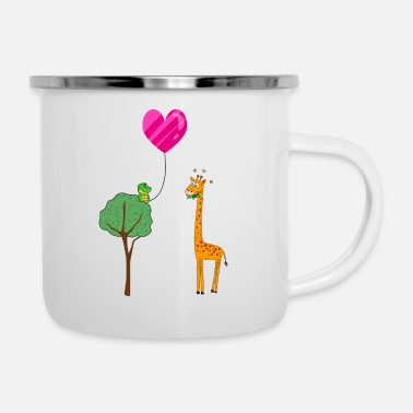Safari Safari Love - Enamel Mug