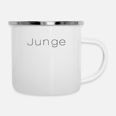 Jungs Junge - Emaille-Tasse