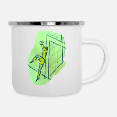 Goalkeeper Goalkeeper-goalkeeper - Enamel Mug