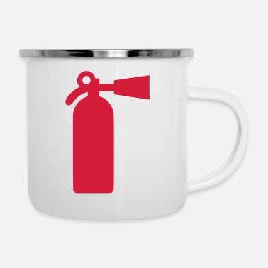 Fire Fire extinguishers - fire - Fire - Enamel Mug