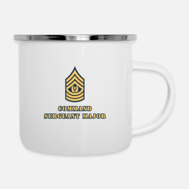 Command Sergeant Major - Enamel Mug