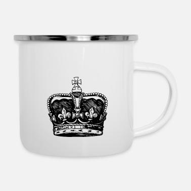 King Queen Emaillen Mok Online Bestellen Spreadshirt