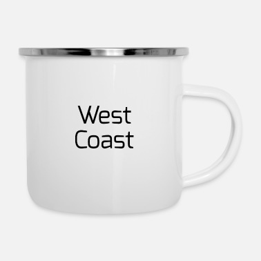 West Coast West coast - Emaille-Tasse