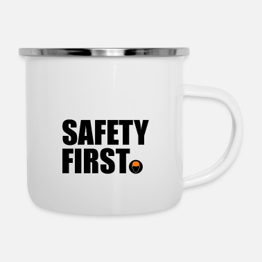 Safety Helmet Safety First Safety First Protective Helmet Protect - Camper Mug