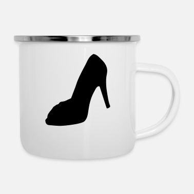 Highheels shoe - highheel - Enamel Mug