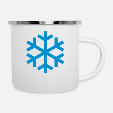 Icon Snowflake Weather Icon Icon - Emaljekrus