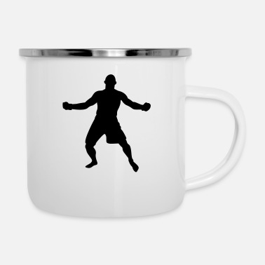Armhebel MMA # 7 - Emaille-Tasse