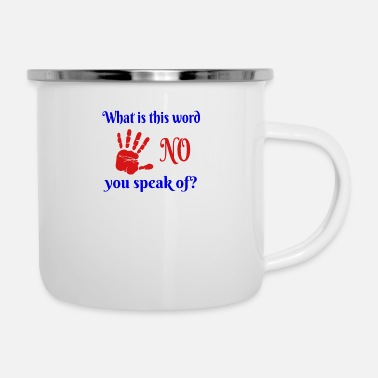 Word No Word - Enamel Mug